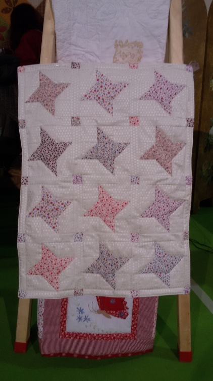 The friendship star quilt that I made for the premiees